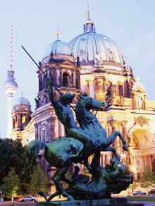 Altes museum and Berlin Cathedral