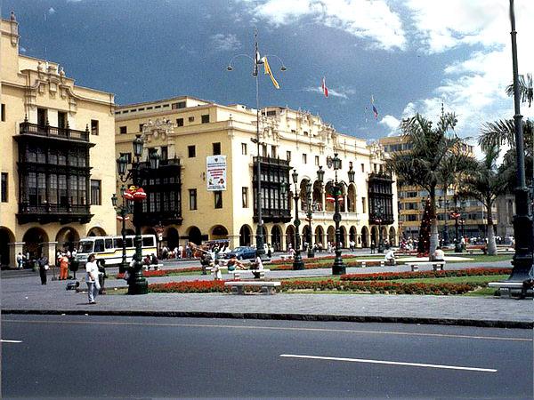 Lima peru movie theater alcazar