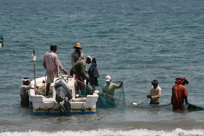 рыбалка в корфаккан