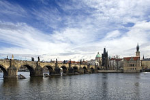 Archibald at the Charles Bridge