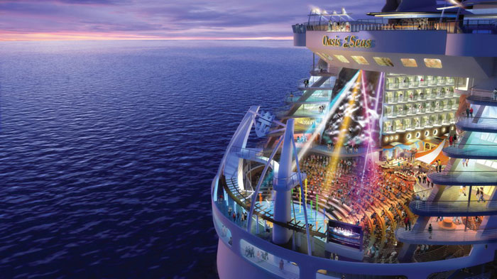 Круизный лайнер морской оазис (5)