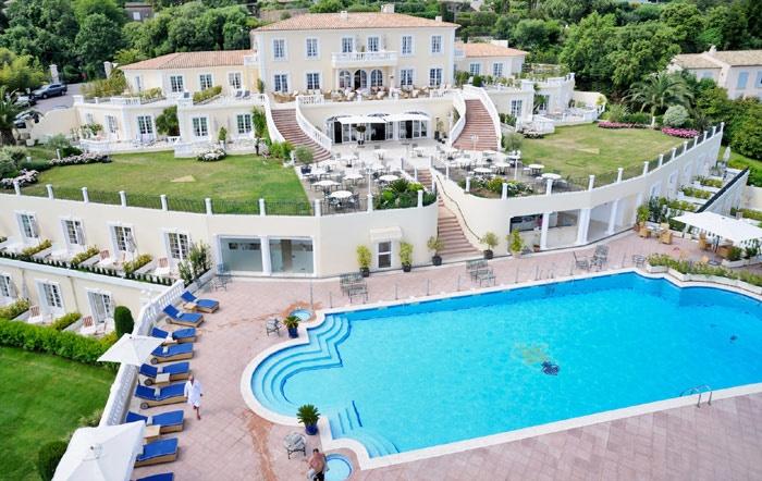 Hôtel de Luxe près de St Tropez  Althoff Hôtel Villa Belrose