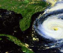 Куба. Вид из космоса